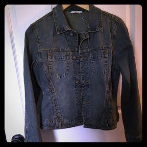 Cabi Denim High Waisted Jacket